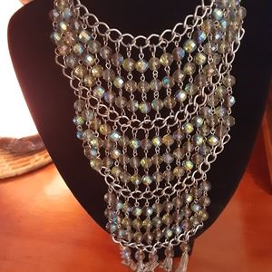 Coldwater creek Gorgeous breastplate necklace